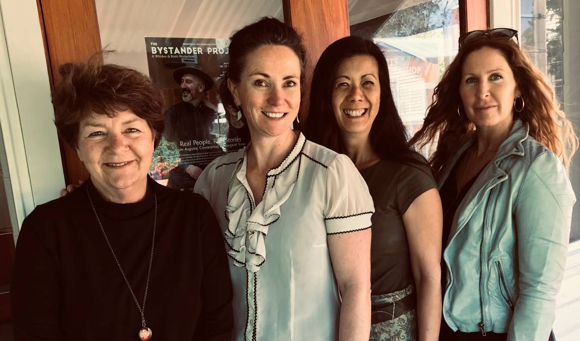 The Arts Margaret River team - Kaye Campbell, Michelle Wright, Stephanie Kreutzer and Sian Baker. Photo Supplied.
